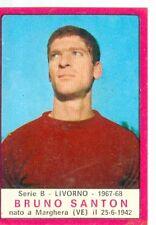 Figurina Calciatori Panini 1967-68! Salvatore Lombardo (Livorno)  Ottima Rec.