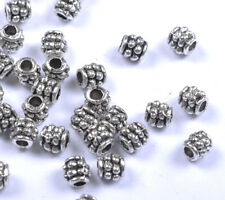 FREE SHIP 100pcs Tibet Silver Nice Spacer Bead 4MM JK1028