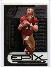 Alex Smith 05 Zenith Epix 4th Down BLACK Rookie Card SP /10 HOT 49ers ONLY 10