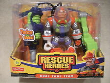 Rescue Heroes  Dual Tool Team Roger Houston New in Box!