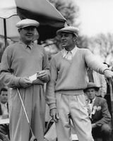 PGA Pro Golfers BEN HOGAN & BYRON NELSON Glossy 8x10 Photo Golf Print Poster