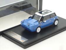 New 1:43 Premium X resin handbuilt Mini Cooper S Yachstman Concept Car R50 Blue