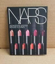 NARS AUDACIOUS LIPSTICK Sample Card with 8 Shades
