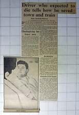 1942 Driver Ben Gimbert Saves Town And Train Cambridge Jim Knightall