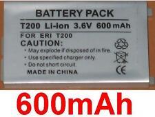 Batería 600mAh tipo BST-24 Para SONY ERICSSON T200, T202