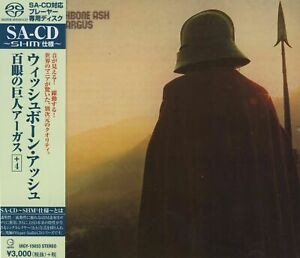 """WISHBONE ASH - ARGUS / SHM-SUPER AUDIO CD (JAPAN IMPORT) """"NEU + OVP"""""""