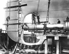 RMS Titanic White Star Propeller Shaft Vintage Ocean Liner Photo Print Picture