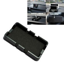 Black Car Dashboard Anti Slip Grip Mobile Phone Holder Skidproof Pad Mat GPS Sat