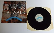"Simple Minds Up On The Catwalk 12"" Single A1U B1U Pressing - EX"