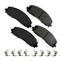 Disc Brake Pad Set-JL Front Akebono ACT1589
