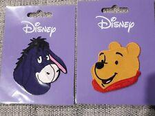 2 Disney Iron on Patches Winnie the Pooh & Eeyore