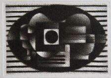 AVATI. Gravure originale de Mario Avati. Carte de vœux 1975, Muller et Editions