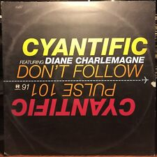 "Cyantific ‎– Don't Follow / Pulse 101 VG++ Hospital NHS91 VINYL 12"" D&B"