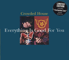 "CROWDED HOUSE ""EverythingIsGoodForYou"" 1996 4Trk LtdEdCD *Neil&TimFinn *PearlJam"
