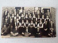 1930s  Australian School Class 3A  Photo Postcard    ( Lot P1)