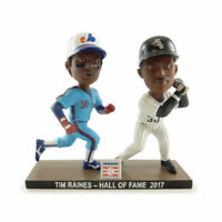 "2017 CHICAGO WHITE SOX TIM RAINES DUAL HOF ""CHARITY SGA"" BOBBLEHEAD EXPOS ~ NIB"