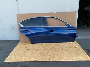 INFINITI Q50 2014-2020 OEM RIGHT PASSENGER DOOR SHELLS (COMPLETE SET/ BLUE). 14K