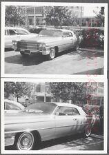 Vintage Car Photos 1963 Cadillac Convertible in Parking Lot 714874