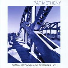Pat Metheny - Boston Jazz Workshop, September 1976 (2016)  CD  NEW  SPEEDYPOST