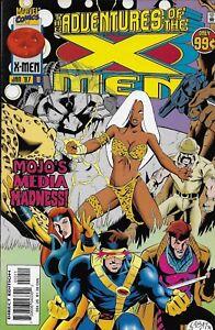 Adventures Of X-Men Comic 10 Cover A First Print 1997 Ralph Macchio Yancey Labat