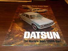 1969 Datsun Sales Brochure