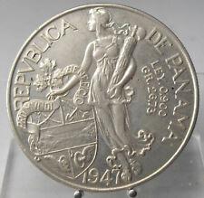 Panama, 1 Balboa 1947, Silber .900
