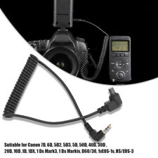 2.5mm-C3 Camera Remote Control Shutter Release Cable Cord for Canon 7D/6D/5D2