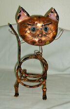 Art Deco Copper Cat Magazine Rack