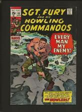 Sgt. Fury And His Howling Commandos 85 VF- 7.5 High Definition Scans