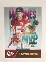 2019-2020 Patrick Mahomes II Super Bowl LIV MVP Rookie Gems Limited Edition MINT