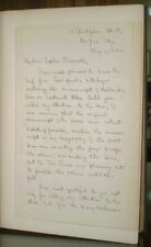 VERY RARE, SIGNED + ALS, FITZ-GREENE HALLECK, NELSON ADKINS, CAPT. PLEADWELL