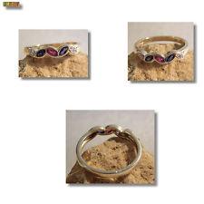 Saphir Diamant Rubin Ring 585er Gold 14 Karat Gelbgold
