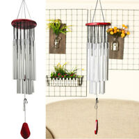 """33"""" Large Deep Tone Resonant Wind Chimes Church Bell Outdoor Garden Decor Gifts"""