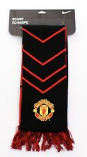 Nike Reversible Manchester United Black & Red Scarf Adult Unisex NWT