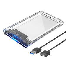 2.5 Unidad de disco duro externa Case SSD/HDD Caddy USB 3.0 Caja de disco d Z5I2