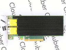 Silicom PE210G2I40-T - Dual Port 10GbE - 2x RJ45 - Intel X540 - Low Profile