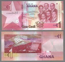 GHANA 1 CEDI, (2019) , P-45, UNC BANK NOTE