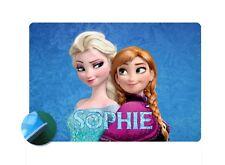 Frozen Elsa & Anna Personalised Place mat - Easy Wipe Clean EVA Sponge Backed