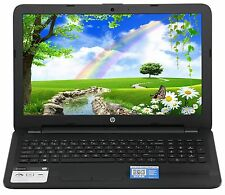 HP 15.6 4GB Ram 500GB HD Quad Core AMD DVD RW Windows 10 Webcam HDMI 10Key R