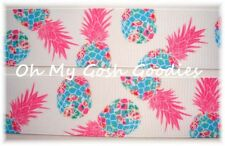 1.5 DESIGNER PINEAPPLE * PARTY * GROSGRAIN RIBBON TROPICAL 4 HAIRBOW BOW