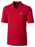 Cutter & Buck Alabama Crimson Tide NCAA Men's Short Sleeve Forge Polo Shirt