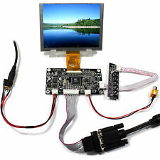 VGA AV Lcd Controller board  5inch ZJ050NA 08C Replace AT050TN22 640x480 LCD