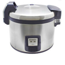Thunder Group Commercial Digital Control Pad Rice Cookerwarmer 120v 1460w