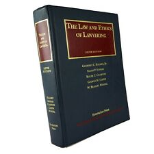 Law and Ethics of Lawyering 5th Fifth Edition Hazard Koniak Foundation Press