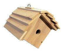 Ark Workshop Wren House Cedar Shelter Box Home also chickadees, titmice -Hanging
