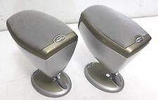 Klipsch RSX-3 2-way Satellite Speakers w/ Stands (set of 2) Surround Sound