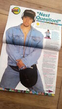 NEW KIDS ON THE BLOCK : Donny 3 page interview UK magazine from 1991