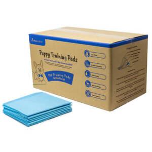 AllPetSolutions Pet Puppy Pads 100 Pack Toilet Training Pee Wee Mats 60x40 60x90