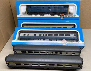 Airfix Class 31 Diesel Loco & 4 MK2 coaches 00 Gauge BR Inter City livery