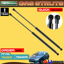 2x Tailgate Boot Trunk Gas Struts for Peugeot 206 Hatchback 1998-2005 2006 2007